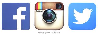 facebook twitter instagram logo. Wonderful Instagram KIEV UKRAINE  AUGUST 02 2016 Facebook Instagram And Twitter Logotype In Facebook Logo