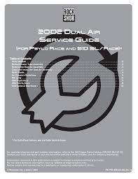 2002 Dual Air Service Guide Manualzz Com