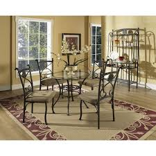 Glass top dining sets Beautifully Steve Silver Company Brookfield 5piece Glasstop Dining Set The Simple Stores Steve Silver Company Brookfield 5piece Glasstop Dining Set The