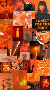 Orange Aesthetic - EnWallpaper