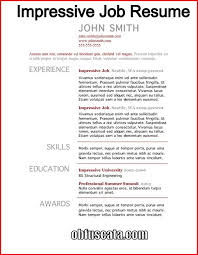 How To Create A Resume New Create Job Resume Pelosleclaire