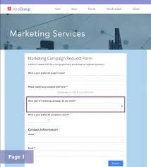 Request Forms Template Announcing New Dynamic Request Forms Adapt To Different