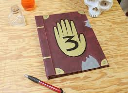 gravity falls book kindle ipad tablet cover journal book 3 thumbnail