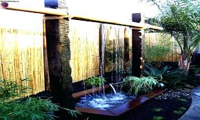 diy water feature wall backyard water wall how to build a water wall build outdoor water