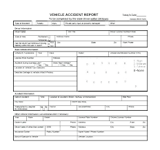 Beautiful Collection Incident Report Form Template Word Free