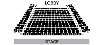 George Street Playhouse Seating Chart Seating Chart Delray Beach Playhouse