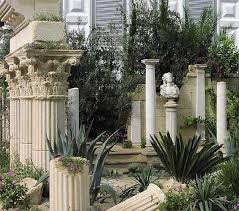 garden columns.  Garden You Can Even Go For A Ruin Look That Was Very Popular In Renaissance Times  And Romantic Gardens Believe It Or Not Columns Are Actually Manufactured To  Inside Garden Columns T