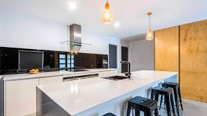 kolor black kitchen coloured glass splashback grovedale supplied installed by