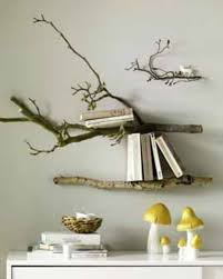 Branch wood shelves, love this quirky look  Decor IdeasArt ...