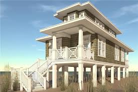 116 1089 2 bedroom 1283 sq ft beachfront house plan 116 1089 front