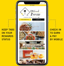 an image of a smart phone that dels several features of the cpk mobile app