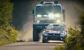 Flipboard: Watch A Big Box Truck Chase A Rally Car