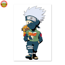 naruto kakashi little boy reading book puppy digital painting diy drawing on the cloth by digital in paint by number from home garden on