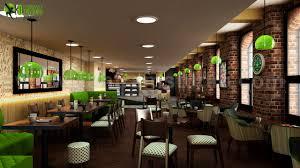 Modern Interior Design Uk Conceptual 3d Modern Cafe Restaurant Ideas By Yantram Inte
