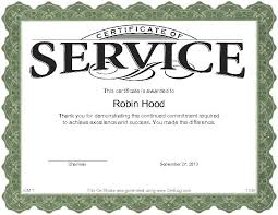 customer service award template certificate for years of service template oyle kalakaari co
