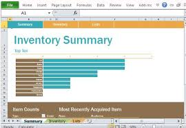 Inventory Template For Excel Personal Inventory Log Template For Excel