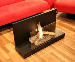 modern fire space indoor glass steel freestanding vent free ethanol burning bio fireplace