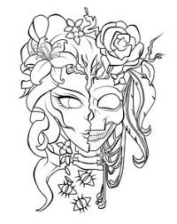 Small Picture Adult Coloring Pages Punk Girl 3 Colouring Pinterest Adult