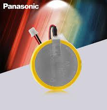 1pcs New Original Panasonic CR2450 battery with solder <b>pin</b> plug ...