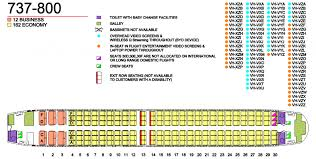 Boeing 738 Seating Chart Qantas Fleet Boeing 737 800 Details And Pictures