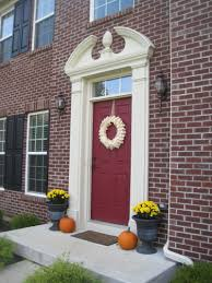 black glass front door. Wonderful Design Ideas For Decorating Front Porch Areas : Enchanting Decoration Using Black Glass Door