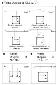 delixi instruments meter co wiring diagram