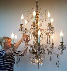 bronze and crystal chandelier. Reviews Bronze And Crystal Chandelier