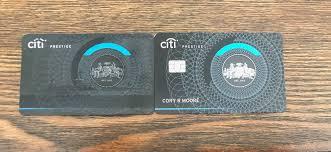 Citi Prestige New Card Design Goodbye Citi Prestige Card A Tribute Moore With Miles