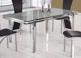 metal and glass dining tables