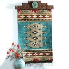 southwest wall hangings southwest wall decor turquoise wall runner from king ranch saddle southwestern southwest decor wall hangings southwest wall