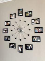 picture clock ideas photo wall clocks