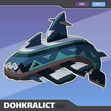 100 Dohkralict by TerryTibke on DeviantArt   Pokemon breeds, Pokemon alola,  Pokemon