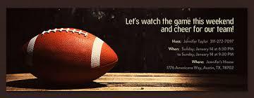Football Invitation Template Free Online Football Invitations Evite