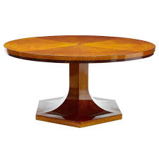 art deco dining table 1920s large birch round at 1stdibs