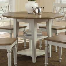 Drop Leaf Round Dining Table Liberty Furniture Al Fresco Iii Round Drop Leaf Dining Leg Table