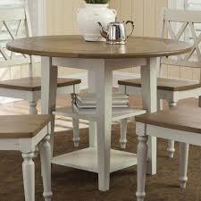 Drop Leaf Dining Table Liberty Furniture Al Fresco Iii Round Drop Leaf Dining Leg Table