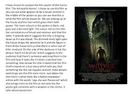 horror movie essay englishessayhorrormoviedocx gcb horror movies  analysis of horror movie posters