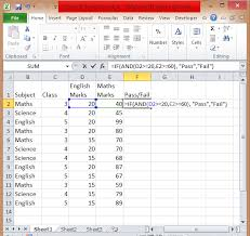 How To Use Excel If Statement Multiple Conditions Range And Or
