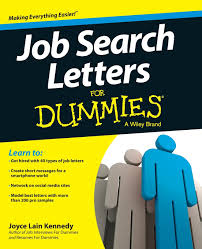 Resumes For Dummies Job Search Letters For Dummies Joyce Lain Kennedy 24 7