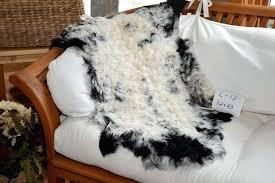 white mongolian sheepskin rug lambskin custom
