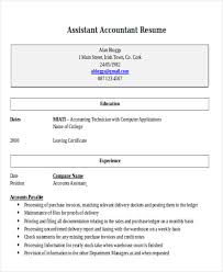 how to write an accounting resume 33 accountant resumes in doc free premium templates