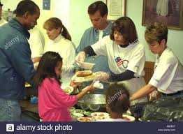 Soup Kitchen Soup Kitchen Volunteers Stock Photos Soup Kitchen Volunteers