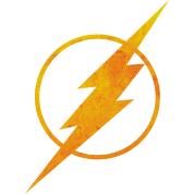 Justice League Flash Logo Kapuzenpullover von JusticeLeague ...