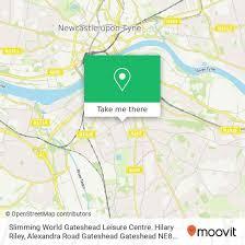 Slimming World Gateshead Leisure Centre. Hilary Riley w Gateshead (Autobus,  Metro lub Kolej): Przewodnik po transporcie publicznym | Moovit