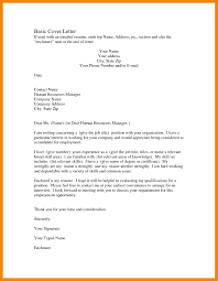 7 Simple Resume Cover Letter Examples Writing A Memo
