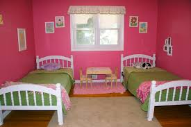 Kids Shared Bedroom Astonishing Shared Kids Room Designs To Check Out Feminine Pink