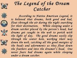 Dream Catcher Native American Legend