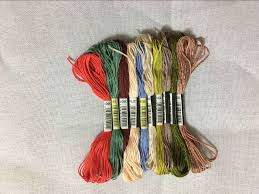 Oneroom 50 100 150 250 Colors Dmc Similar 100 Cotton Embroidery Thread Kits For Cross Stitch Mouline 6 Strands Floss 8m