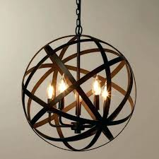 beautiful rustic orb chandelier for white orb chandelier white orb chandelier chandeliers
