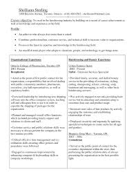 Cosmetology Resume Examples Cover Letter Cosmetologist Resume Sample Examples Picture 83